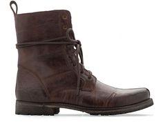 Tufo Fold Down Leather Boot