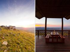 If you want romance, this is it. Views and privacy that know no limits. I can't quite describe just how vast these views are- you're going to have to see for yourself. Cape Town, Photo Editor, Gazebo, Places To Go, Romance, Outdoor Structures, Explore, Adventure, Destinations