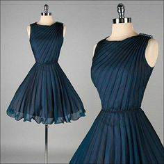 navy blue fashionable dress, beautiful smart chic, waist belt to add feminine touch to the outfit