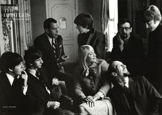 I remember Daddy used to always love this photo at an old record shop we went to! The Beatles with Peter, Paul and Mary