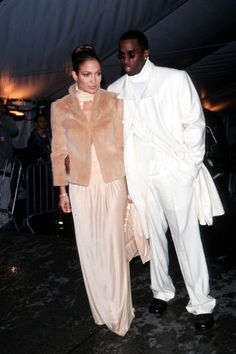 22 of the most fabulous vintage celebrity looks from the Met Gala. See our favorites here: Jennifer Lopez & Diddy, 1999