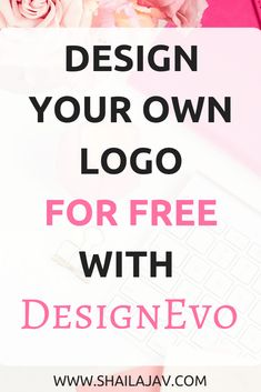 Design your own logo for free with this simple tutorial! Make Your Own Logo, How To Make Logo, Create A Logo, How To Start A Blog, Create A Business Logo, Create Logo Design, Business Website, Business Tips, Online Business