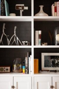 Gray walls, white cupboards & shelves  http://www.designsponge.com/2012/04/sneak-peek-joshua-and-jodie-steen.html/2luster