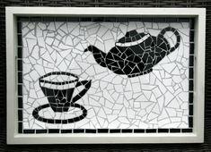 Afbeeldingsresultaat voor mozaiek dienblad