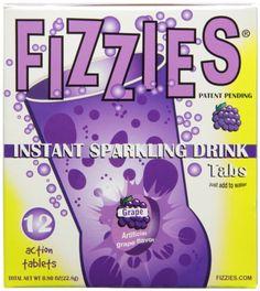 Fizzies Retro Instant Sparkling Grape 72 Tablets - List price: $30.00 Price: $16.00