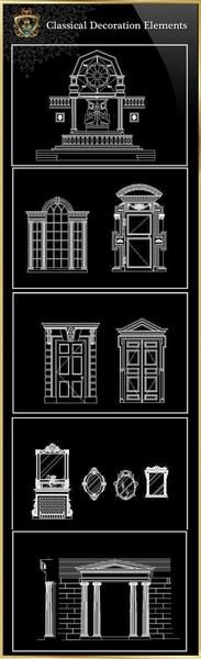 【Architectural CAD Drawings Bundle】(Best Collections!!) – CAD Design | Free CAD Blocks,Drawings,Details