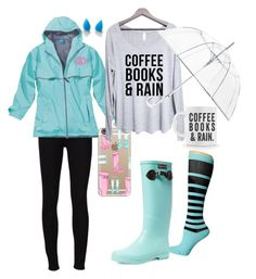"""Rainy Day"" by nmdejager ❤ liked on Polyvore featuring Frame Denim, Casetify, Aigle, ShedRain, Finest Imaginary and NIKE"