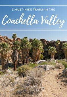SoCals Coachella Valley is arguably one of America's best, most unique places to hike. Its proximity to the 2,650-mile Pacific Crest Trail (PCT) means it's convenient for trekkers to reach some of California's tallest peaks, plus you'll find diverse trails winding through Coachella Valley National Wildlife Refuge and Joshua Tree National Park.