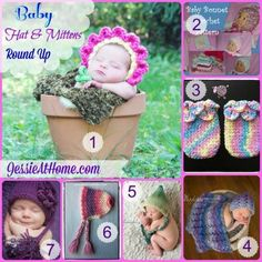 Wednesday Round Up 7/30/14 ~ Baby Hats & Mittens
