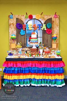 mexican fiesta dessert table - Google Search