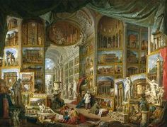 Giovanni Paolo Pannini - Gallery of Views of Ancient Rome