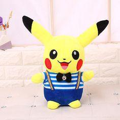 NEW-8-Pokemon-Center-Go-Pikachu-Plush-Soft-Doll-Stuffed-Animal-Toy-Cute-Gift