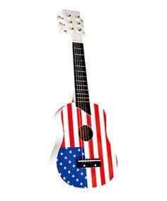 Loving this USA Flag Guitar on #zulily! #zulilyfinds