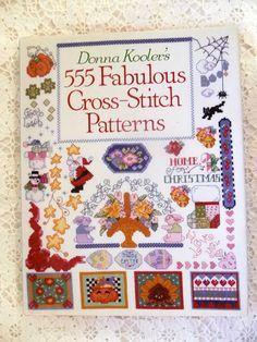 Donna Kooler's - 555 Fabulous Cross-Stitch Patterns