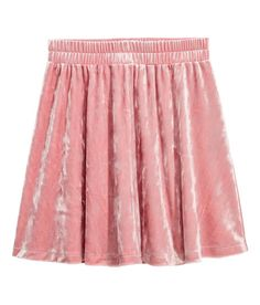 Check this out! Circle skirt in velour with an elasticized waistband. -  Visit hm e1944b48080