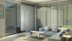 Salon d'une villa contemporaine #livingroom #architecture #house #design #interiordesign #mandelieu #france #3d #colibristudio #barcelonachair #minottisofa