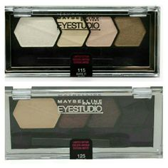 ??Maybelline New York Eyestudio ?? ??Brand-new?? BRAND-NEW Maybeline Limited Edition  #115 Bare it -For reserved #125 Take it ?Check out my closet? Maybelline  Makeup Eyeshadow