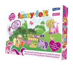 Fuzzy Felt - My Little Pony - John Adams - Bx-a4-6-t48 >>> This is an Amazon Affiliate link. Want to know more, click on the image.