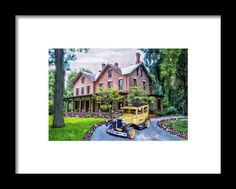 Rutherford B. Hayes Taxi Framed Print By Mary Timman