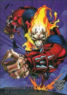 Speed Demon (Blaze Blood) - Ghost Rider/Etrigan the Demon