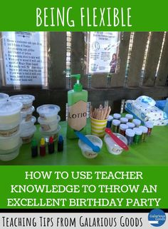 How to Use Teacher Knowledge to Throw an Excellent Birthday Party. Explore how teacher skills helped me throw an amazing Harry Potter birthday party for my son and his friends. #galariousgoods  #teacherskills