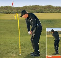 Phil Mickelson: How To Hit 2 Basic Pitches and Chips. Golf Chipping Tips - How To Play This Shot Like The Pros. golf chipping tips Phil Mickelson, Short Game Golf, Golf Basics, Golf Chipping Tips, Golf Putting Tips, Golf Videos, Golf Instruction, Golf Tips For Beginners, Golf Training