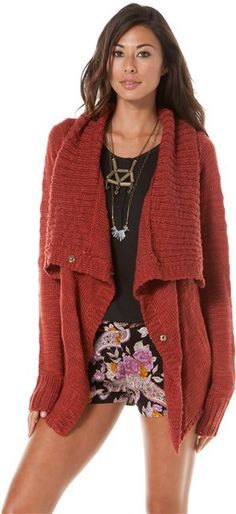 ELEMENT LARIAT SWEATER $64.50 via Swell.com - Is it too soon to start lusting over fall clothing?