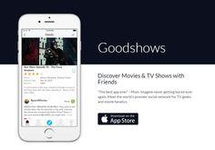 AppsUser: Goodshows, app para descubrir nuevos programas de televisión y títulos cinematográficos