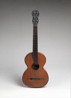1835-1840 Austrian Guitar at the Metropolitan Museum of Art, New York