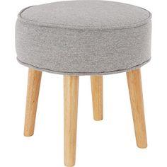 grey marl foot stool