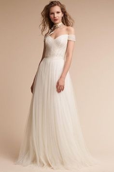 Ivory Heaton Gown in  Bride | BHLDN