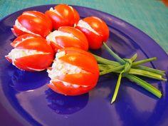 Tulipany z pomidorów