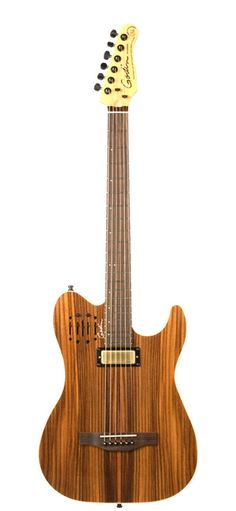 Acousticaster - electro-acoustic hybrid guitar by Godin Guitars