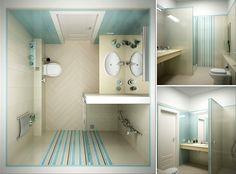 Как разместить душевую кабину в маленькой ванной: дизайн и интерьер маленькой ванной комнаты с душевой кабиной
