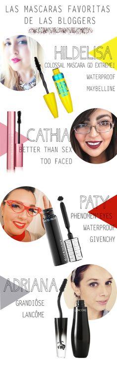 mascaras favoritas bloggers