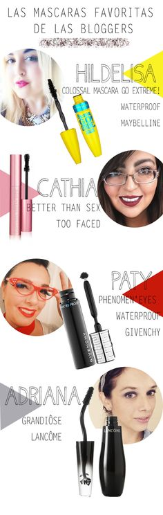 mascaras favoritas bloggers