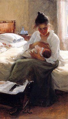 Love Love Love it!!    Danielson-Gambogi, Elin (1861-1919) - Äiti - 1893