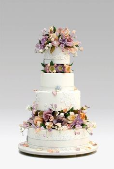 Wedding cakes by Ron Ben-Israel New York City | iPad