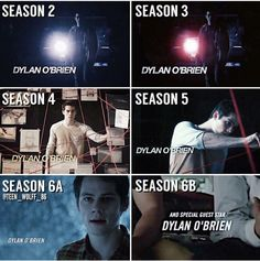 #TeenWolf Season 2-6 #StilesStilinski