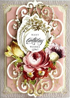 Buy Anna Griffin Delicate Engravings Card Toppers