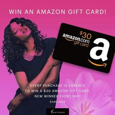 Every day this month one lucky customer will be selected to win a $30 Amazon gift card. Every purchase In April will be entered to win! This giveaway ends at midnight on 4/29/2016 so hurry and don't miss out http://Tiffanymoore.mayvenn.com Amazon-Giveaway. #Mayvenn #MayvennHair #SpringCleaning #SpringIntoAction #Spring #Shop