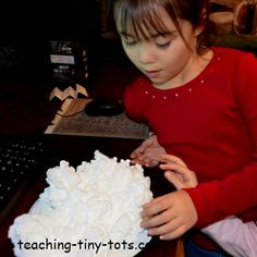 Easy experiment with Ivory Soap for Kids from Teaching Tiny Tots