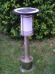 pewter solar garden path lights | Solar Landscape Lights on China Led Solar Garden Light200911161243063 ... Solar Lawn Lights, Path Lights, Garden Path Lighting, Solar Lanterns, Solar Led, Garden Paths, Bulb, Exterior, Pewter