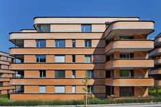 Siedlung Residential Buildings | Lochau, Austria | Baumschlager Eberle | photo by Eduard Hueber