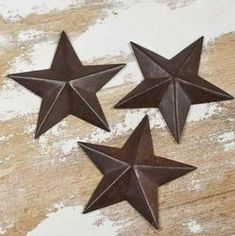 Miniature Rustic Tin Barn Stars