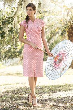Perfect Peach Dress | Shabby Apple $92.00