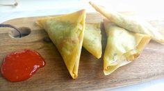 Kerrie groente driehoekjes | Oven - Airfryer