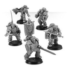 Imperial Fists Legion Templar Brethren Upgrade Set