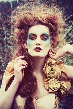 woodland witch makeup/hair