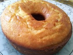 Esta torta desprende un aroma a limón que invita a probarla a toda hora.